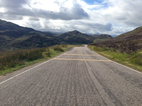 Between Nairn and Fort Augustus, around mile 45
